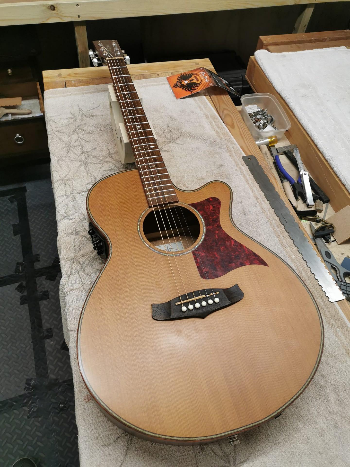 Taylor Guitar Setup guitar repair stroud