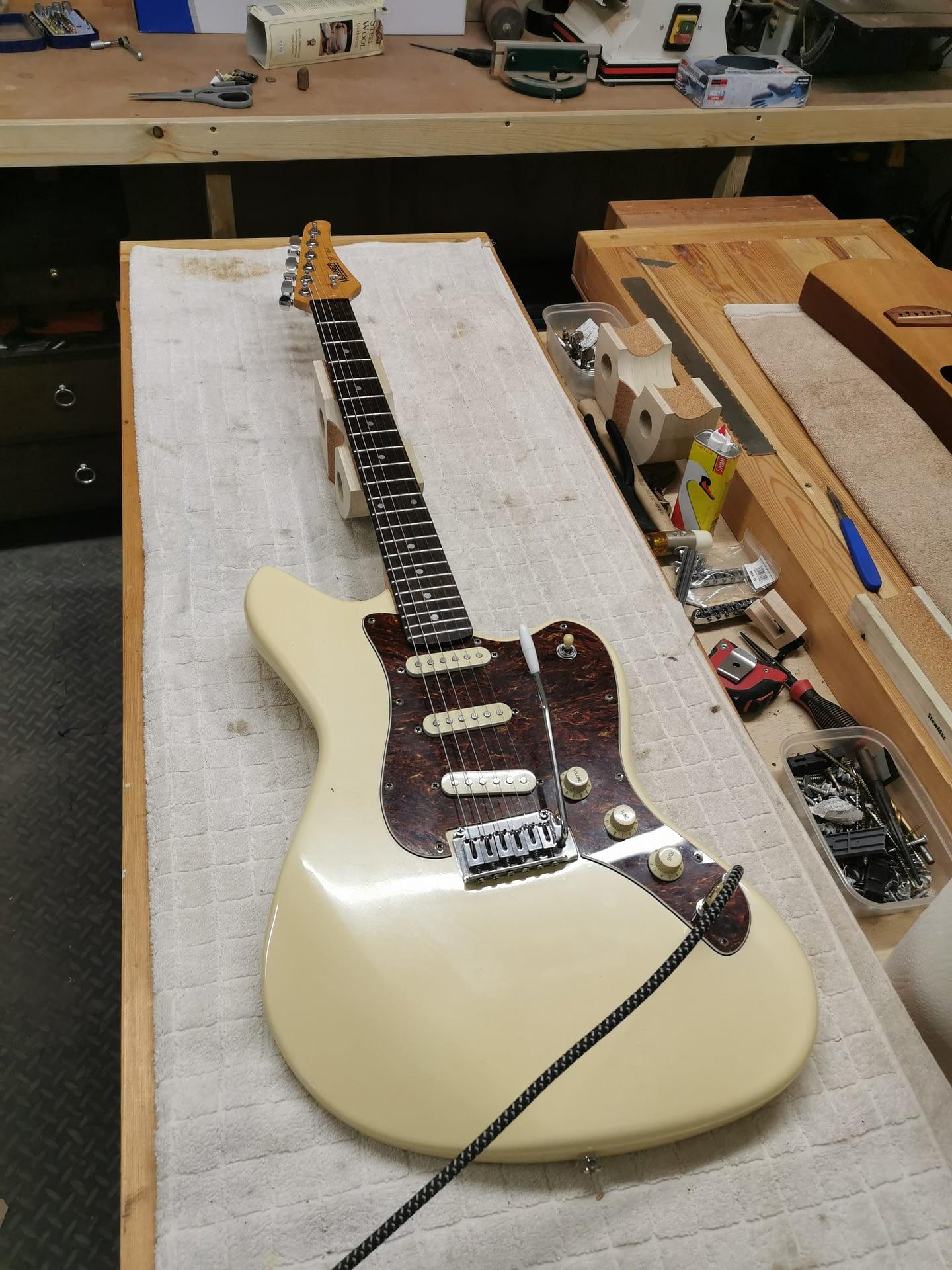 Hohner Guitar Setup guitar repair stroud