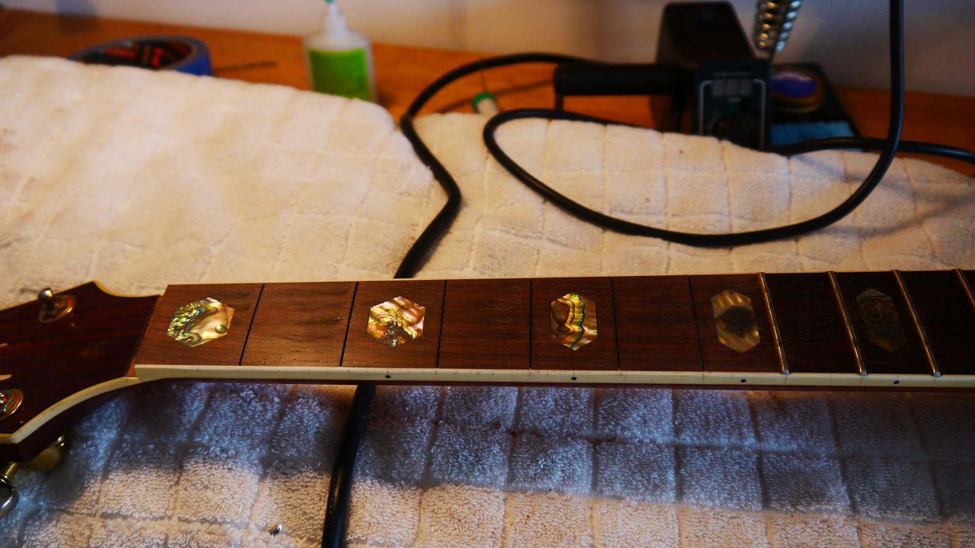 Patial Refret Guitar Repair stroud