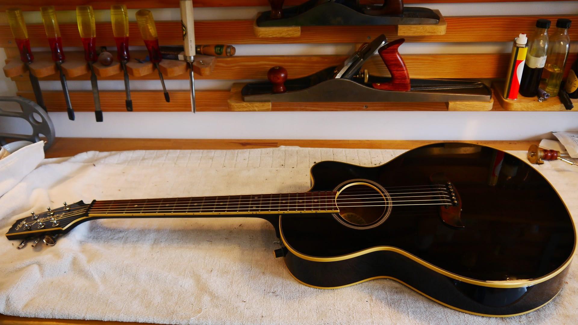 Aria Setup Guitar Repair Stroud
