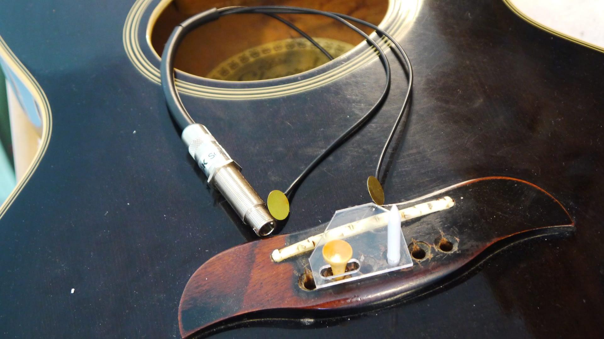 K&K Pure mini Pickup Installation guitar repair stroud