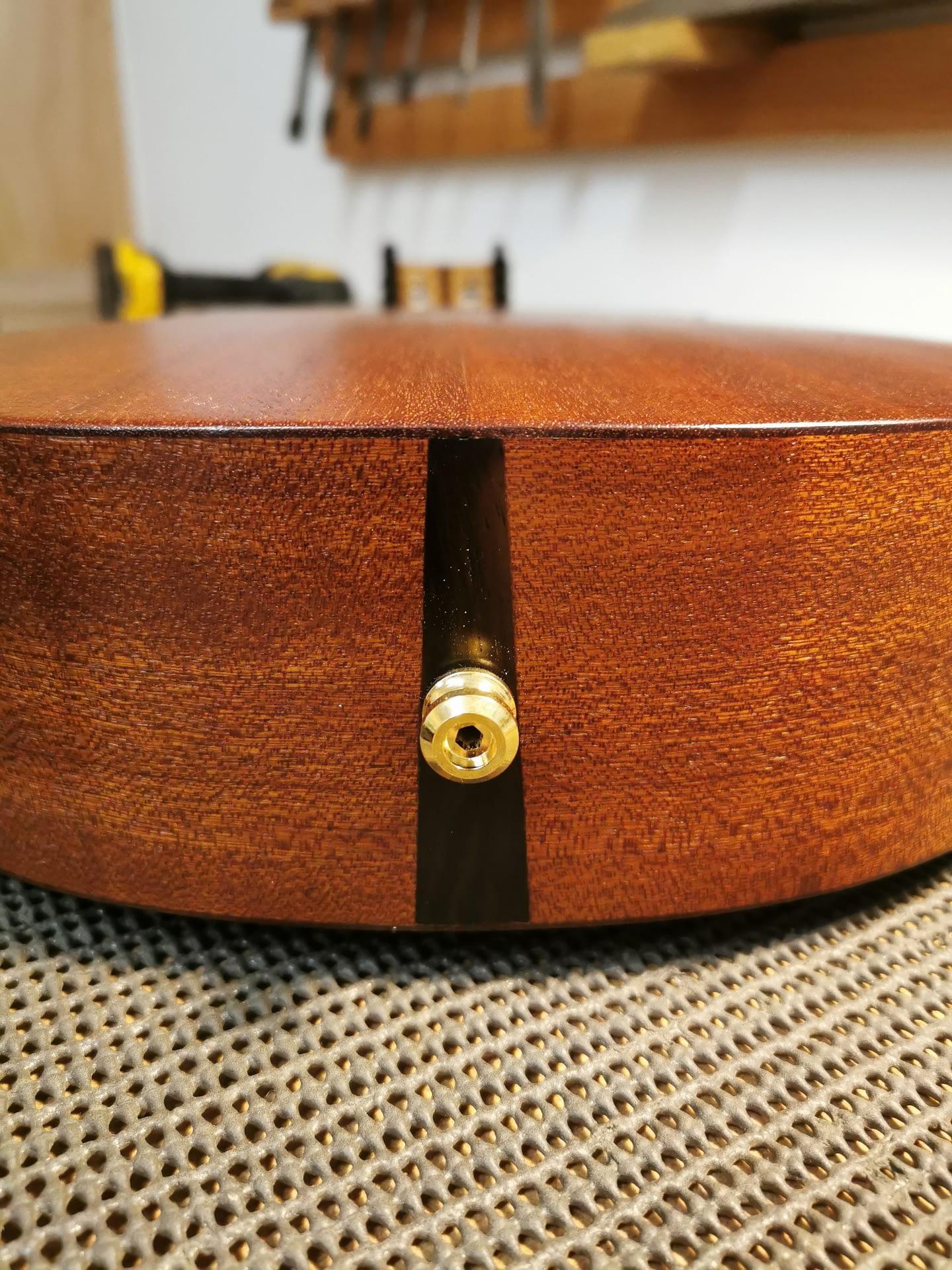 Handmade Ukulele Schaller Strap Lock Fitted guitar repair stroud