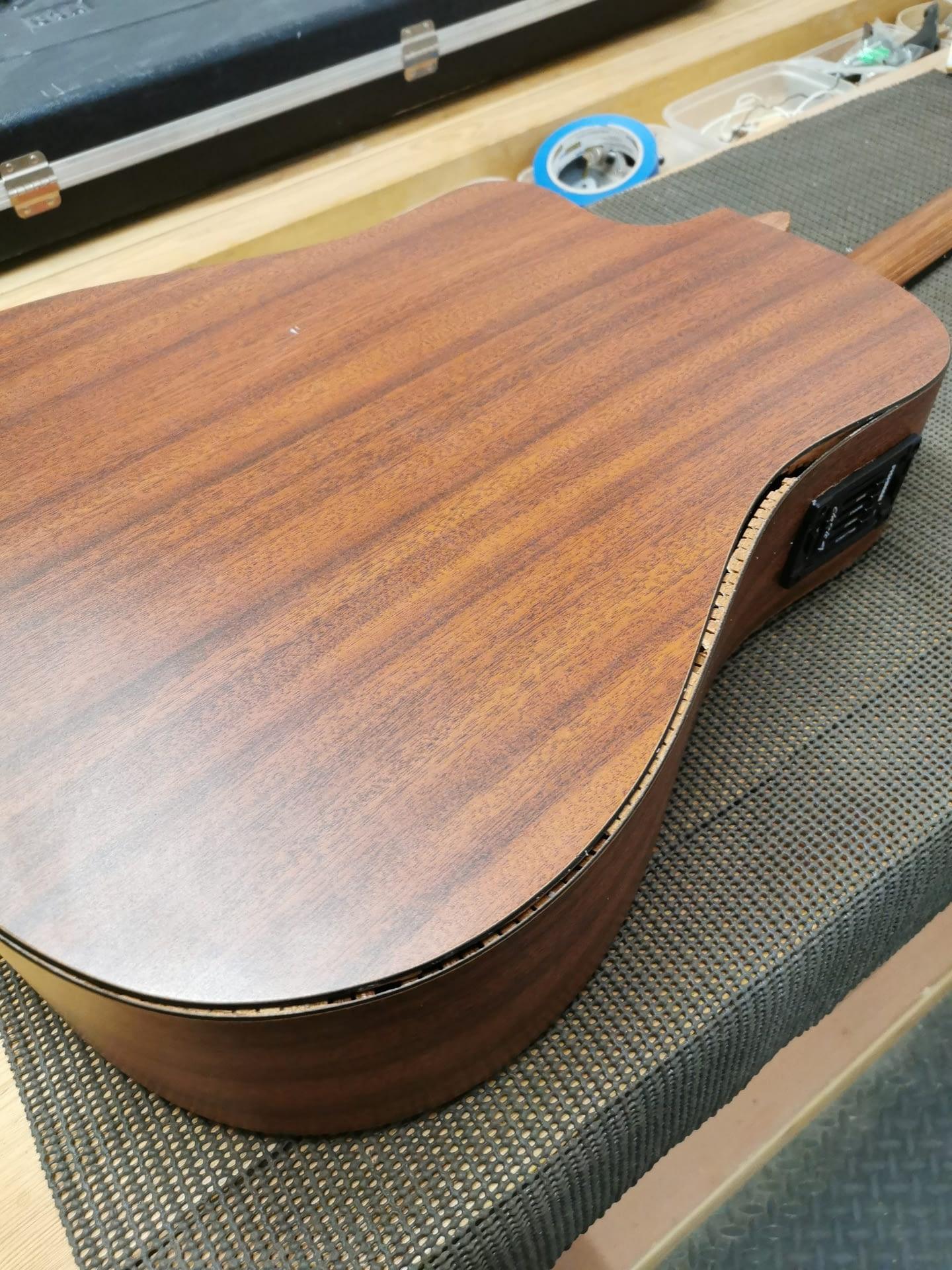 Martin Guitar Back Crack Repair stroud