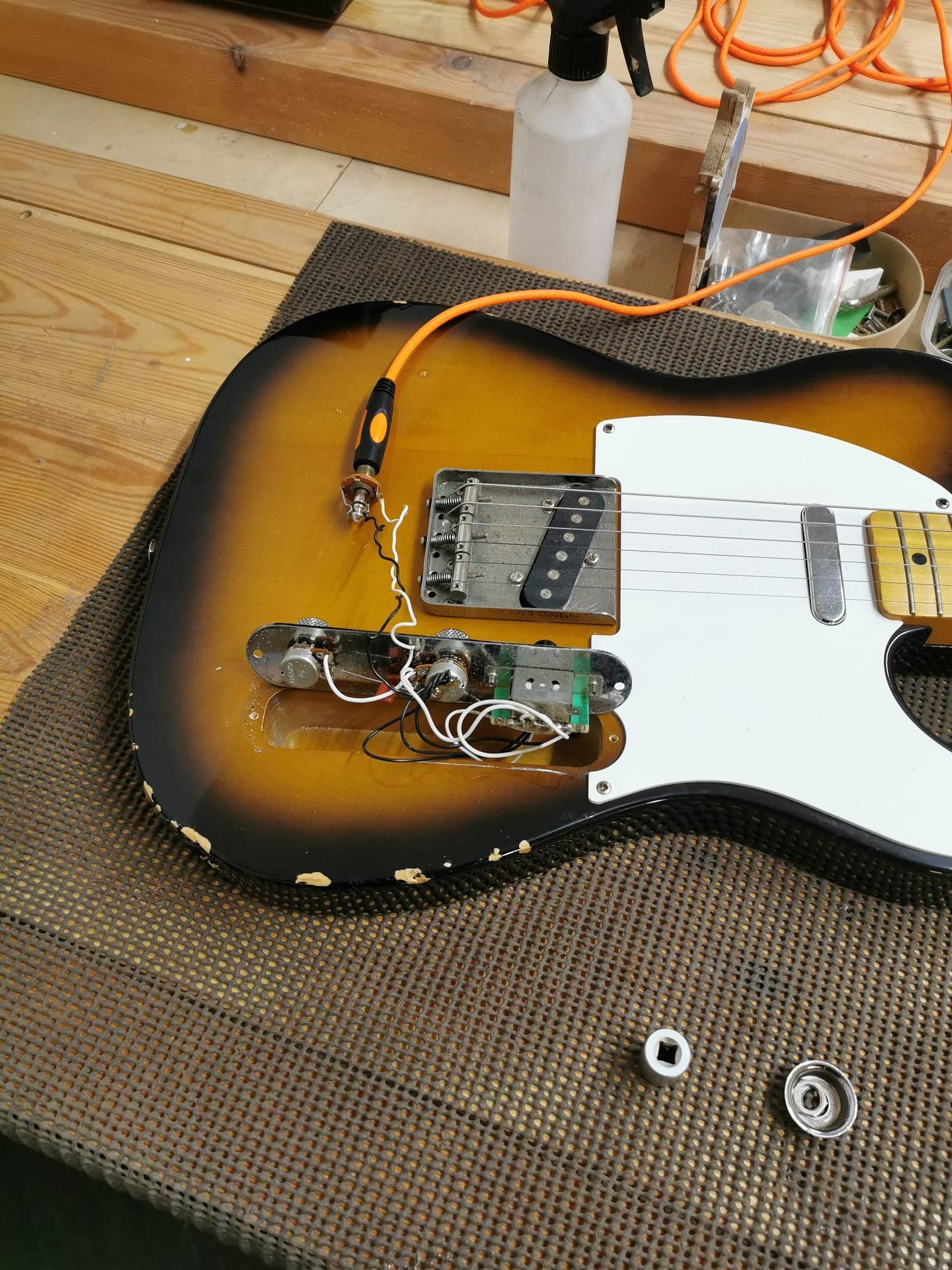 New Jack for Telecaster guitar repair stroud